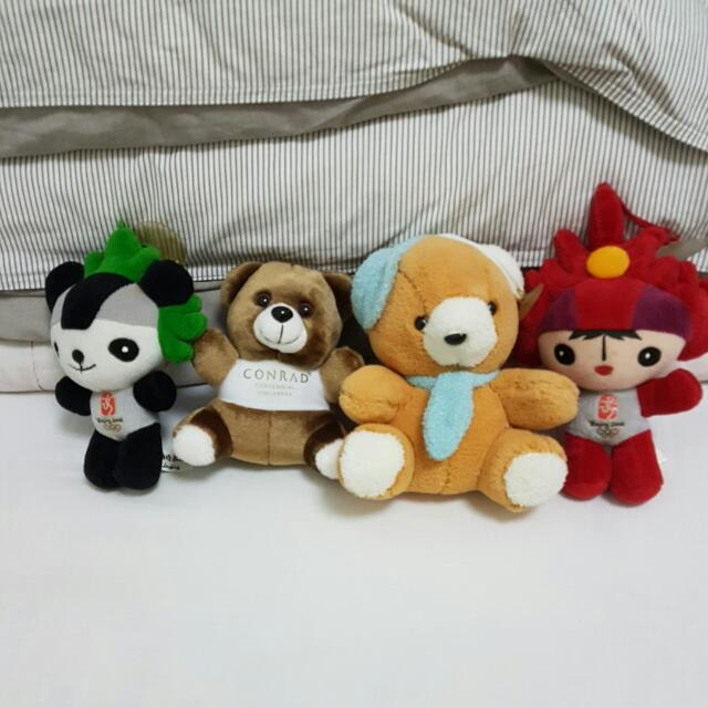 Small Plushie Soft Toy Teddy Bear Gift.