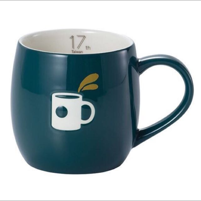 Starbucks 星巴克 17週年 限量紀念馬克杯