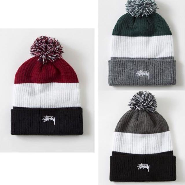 Stussy冬天毛帽