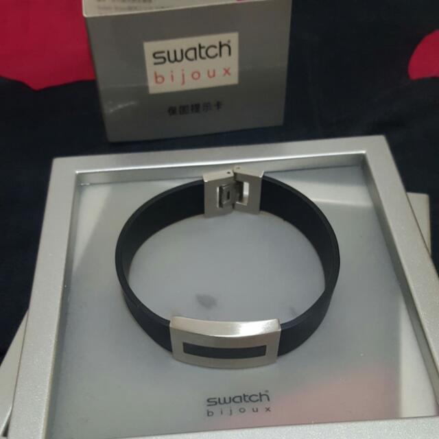 swatch男生手環