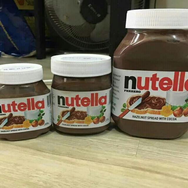 =TAKE ALL= NUTELLA SPREAD