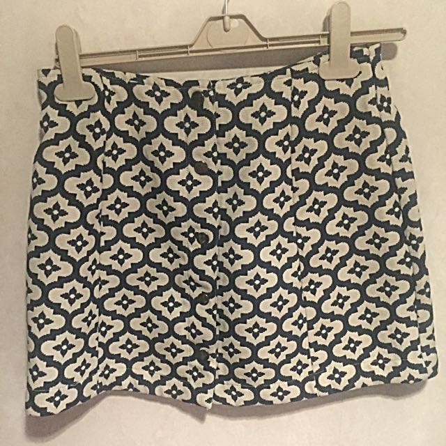 Topshop Size 10 Winter Mini Skirt