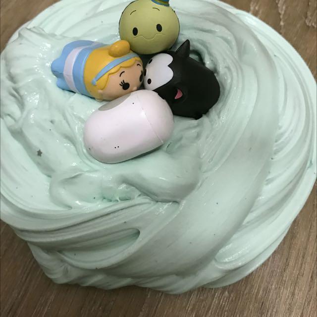 Tsum Tsum In Lush Bath SUPER Fluffy Slime