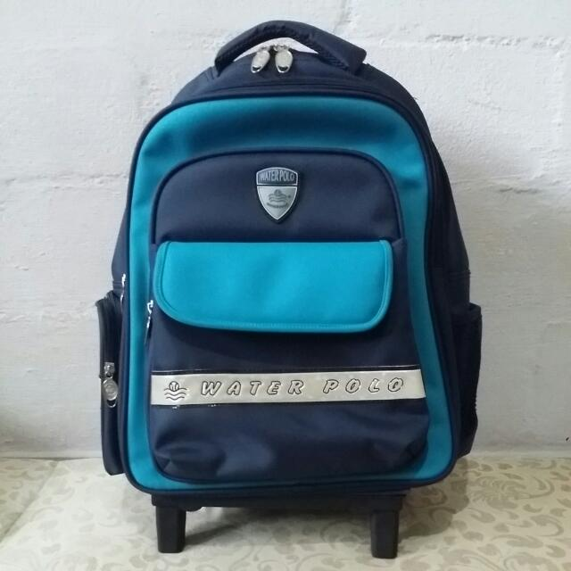 34d9cf5e18bf Water Polo School Bag With Trolley on Carousell