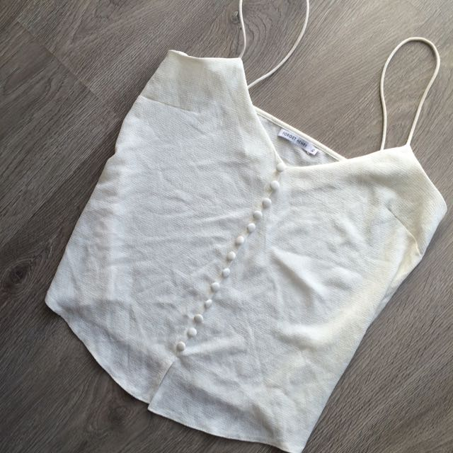 White Dress Top