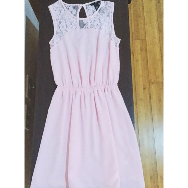 XS Pastel Pink Dress from H&M