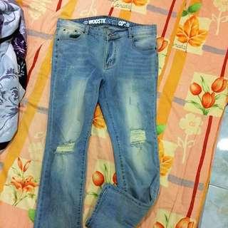 Woodstuck破壞牛仔褲 ⚠️降價求出售