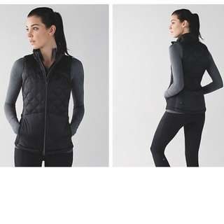 BRAND NEW - NWT – Lululemon Down For a Run Vest – Black Size M