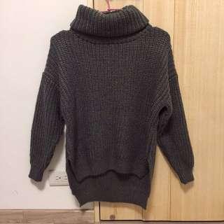 韓國高領毛衣(全新)