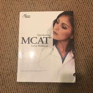 Princeton review Mcat Verbal Workbook