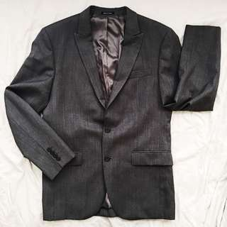 Tailored Fit Suit (Grey)