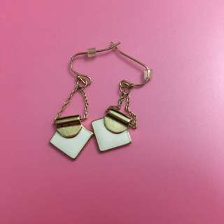 Gold Plated Earrings NWOT