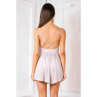 Sparkly Pink Playsuit