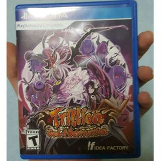 PS Vita Trillion God of Destruction
