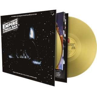 Star Wars - Episode V - The Empire Strikes Back. Gold vinyl lp. new