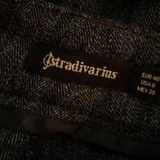 Grey Pants From Stradivarius