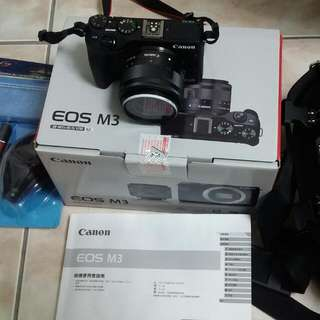 Canon EOS M3 ,EF-M15-45 IS kit