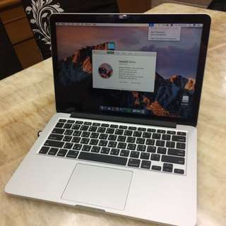 MacBook Pro Retina 保固中 13' 256GB 2015 Early