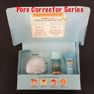 (last set) ETUDE HOUSE  Wonder Pore Special Wow Gift/Travel Kit Set