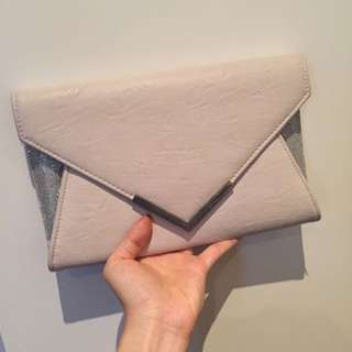 Colette Clutch Bag With Chain