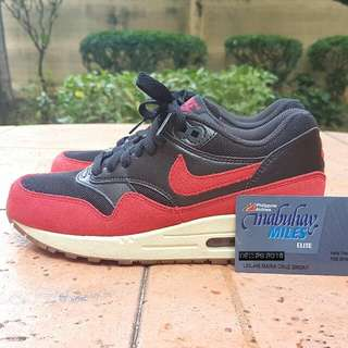Nike Air Max 1 Bred US6 Womens