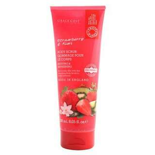 Body Scrub Strawberry & Kiwi