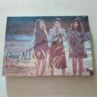 Signed CD Gavy NJ - Hello