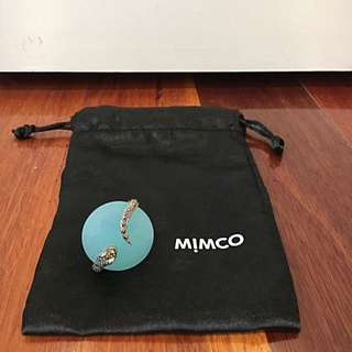 Mimco Snake Detailed Ring