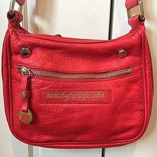 Marc By Marc Jacobs Red Over Shoulder Bag