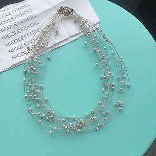 Real Pearls Choker