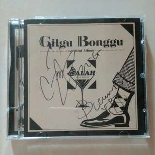 Signed CD Gilgu Bonggu