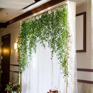 [Sellabrations] Backdrop Decoration Leaves Vine