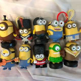 Mc Donald's Minions Set