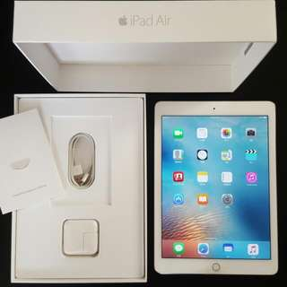 2016 Apple iPad Air 2 Wifi Gold 64GB