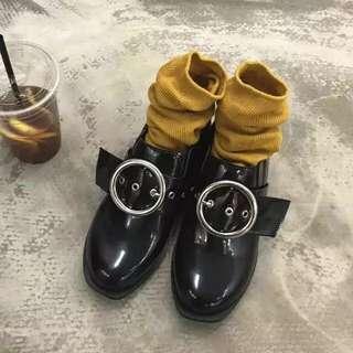 復古英倫小皮鞋