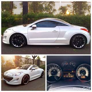 FOR SALE : PEUGEOT RCZ 2012 (White) / 2013