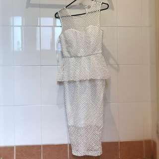 Portmans White Dress