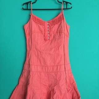 Peach Pastel Dress