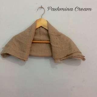Pashmina Cream