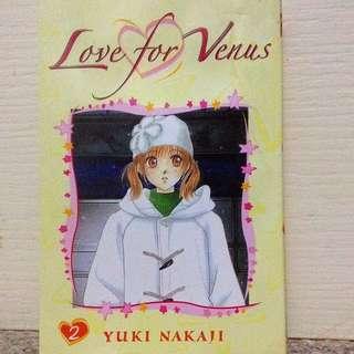 Love For Venus Book 2 by Yuki Nakaji