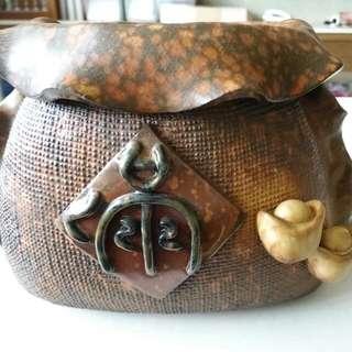 陶瓷器皿(滿。雙元寶)