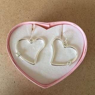 New sterling silver earrings. Fully packaged.