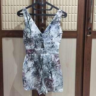 spring short-jumpsuit