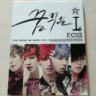 Signed CD F.Cuz