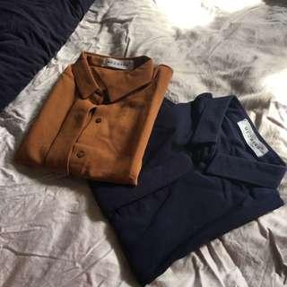 Peterpan collar top