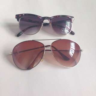 Rayban And Cotton On Sunglasses