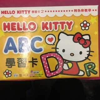 "Hello Kitty ABC Flash Card "" Only 1 Pcs"""
