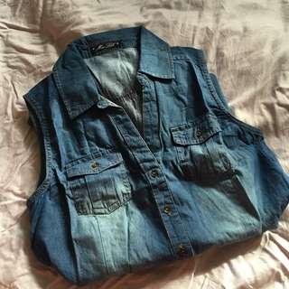 Denim dress/ outerwear