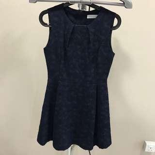 Korea Blue Dress