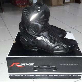 Rjay's Motorcycle Boots Size 9(42)